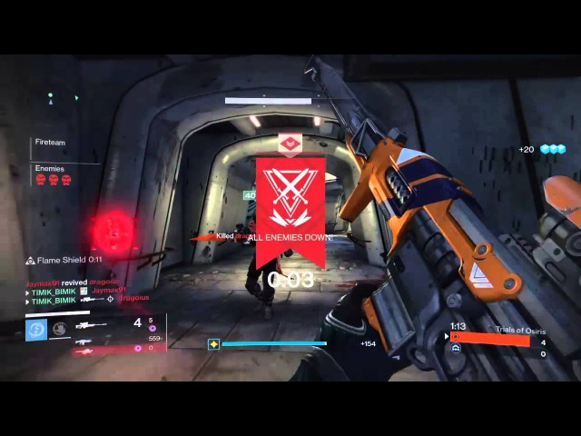 TIMIK_BIMIK Destiny sniping play trials Osiris part 2