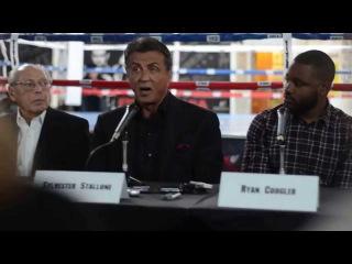 Крид: Наследие Рокки / Creed (2015) — Интервью с Сильвестром Сталлоне №3 (англ.)