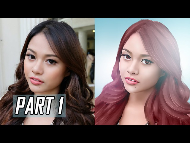 Turn Photo Into Painting Effect Using Smudge Tool In Photoshop PART 1