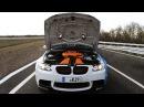 BMW M3 E90 G-Power w/ Akrapovic Exhausts: Drifts LOUD Sound!