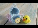 Crochet - part 1 of 2 How To Crochet a Mini Chick Egg - Yarn Scrap Friday