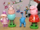 Свинка пеппа. Игра с шариками. Peppa Pig. Playing with balloons. Toys coming out of balloons