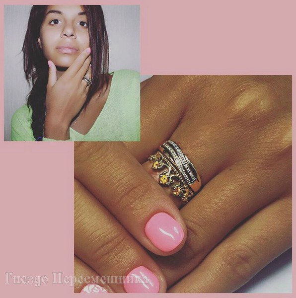 обручальное кольцо эллы сухановой фото
