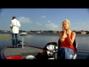 прикол про женщин на рыбалке - 480x360