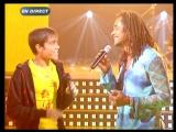 Yannick Noah et Gregory Les lionnes