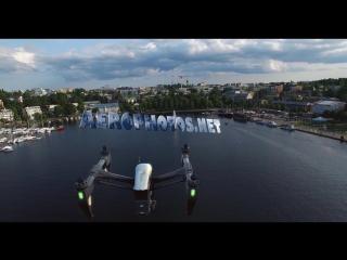 3D DJI Inspire 1 Композ.