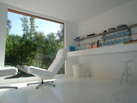 Маленький летний домик в стиле минимализм