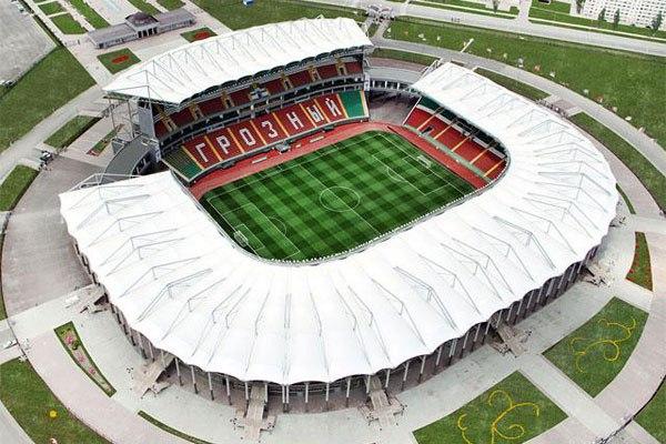 """Стадион """"Ахмат-Арена"""", Грозный"""