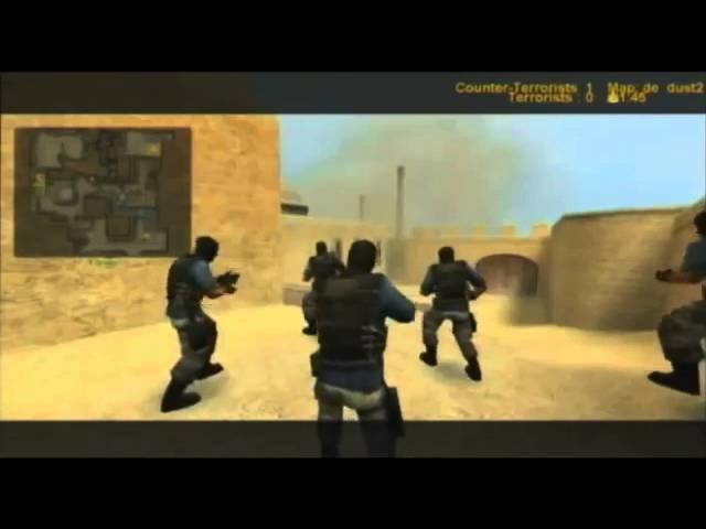 Dignitas vs Derailed / de_dust2 / i39 CSS Groups game