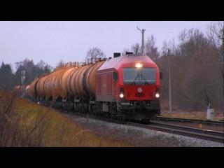 Eurorunner siemens locomotive ER20CF-039 / Тепловоз ER20CF-039