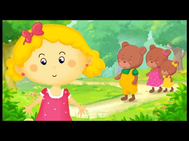 Histoire pour enfants Boucle d'or et les 3 ours