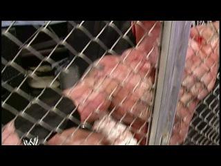 Брок Леснар vs Гробовщик - Hell in a Cell, WWE No Mercy 2002