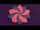 Цветок с разноцветными лепестками Flower with multicolored petals