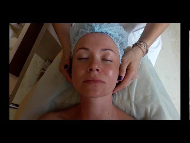 см *оговорку*. Техника тибетского массажа лица. Борьба с гравитационными птозом