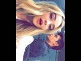 Sabrina, Peyton, Corey and August. Radio Disney, 02.25.16