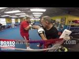 Руслан Чагаев готовится к бою с Лукасом Брауном