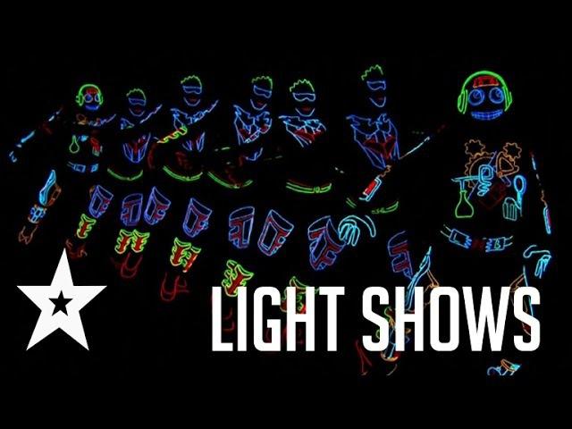 Best Light Shows Ever On Americas Got Talent Britains Got Talent