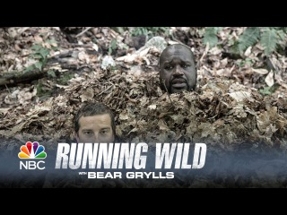 Shaq Becomes One with the Leaves - Running Wild with Bear Grylls (Episode Highlight)