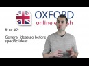 Adjective Order English Grammar Lesson