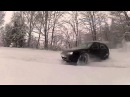 Golf4 V6 Winter Snow Drifting - No Crash - Feb 2013