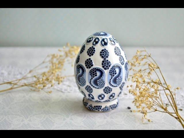 Видео МК: пасхальное яйцо от мастера Таня Шумковская