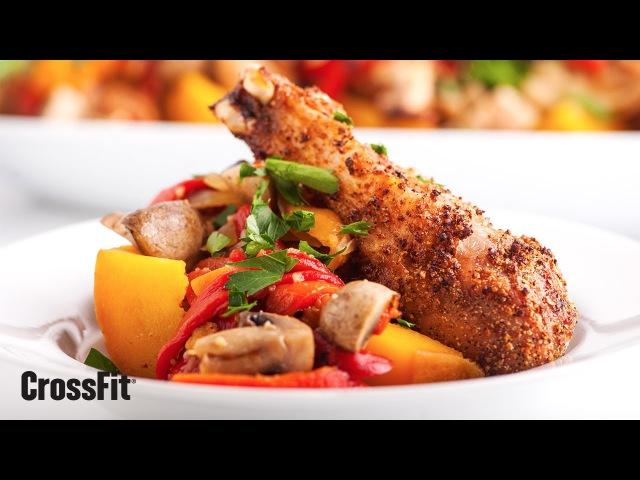 The CrossFit Kitchen: Lemon-Pepper Chicken With Butternut Squash