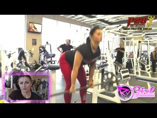Тренировка ног с Сашей Браун Leg Blast with Sasha Brown IFBB Pro
