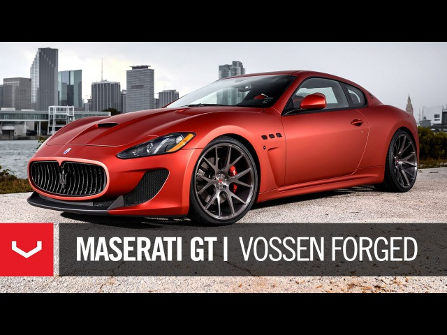 Maserati GranTurismo MC Sportline | Beauty from Italy | Vossen Forged VPS-306 (4K)