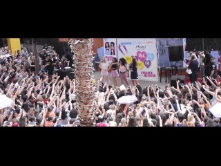 Little Mix's Hot Performance and Interview at Miami's Dolphin Mall