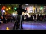 Daniel Arroyo y Juan Pablo Ramirez dancing