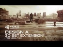 Design a 3D Set Extension Tutorial! FREE model pack!
