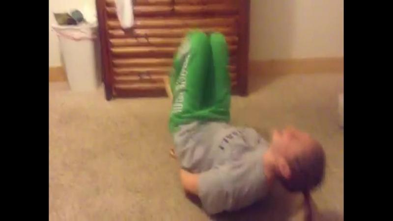 Molly Doing The Ninja Escape Challenge
