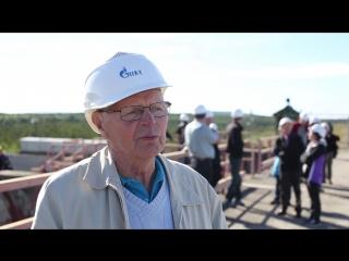 Делегация из Финляндии на Верхне-Туломской ГЭС