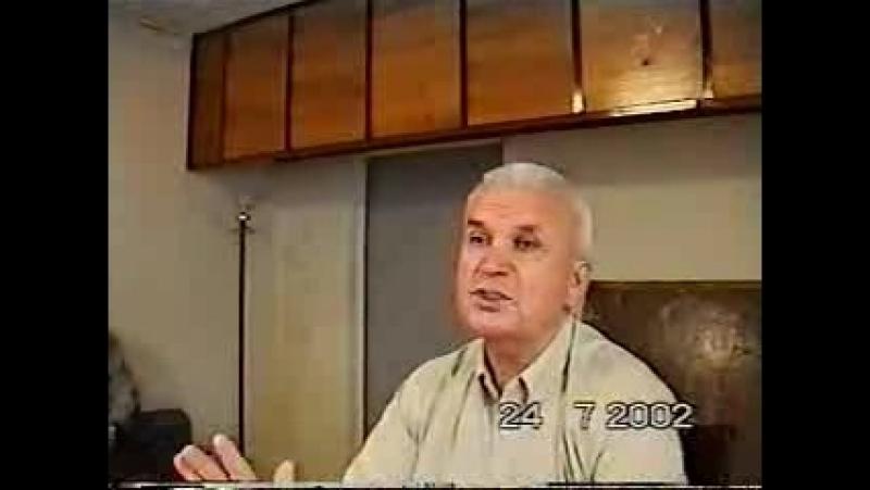 Зазнобин В.М. (2002.07.24) - Напутствие Сталина