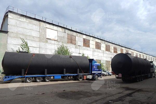 Резервуары горизонтальные стальные РГС-П1-100
