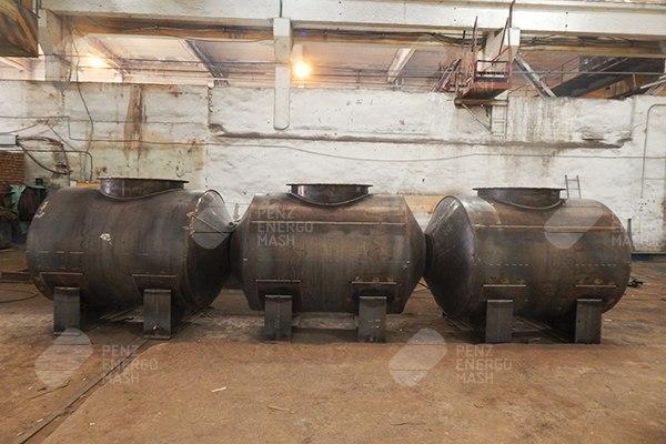 Производство резервуаров РГС-Н1-3