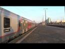 Traxx E186 143 4 z pociagiem EN452 relacji Moskva Belorusskaja Paris Est