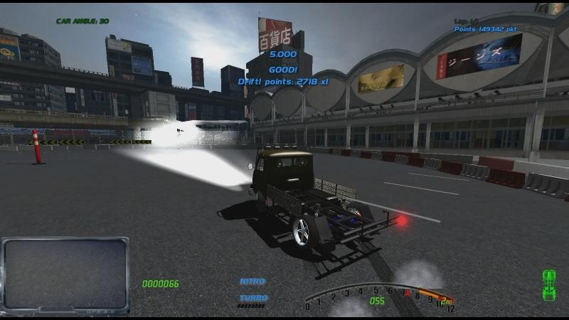 [SLRR] Дрифт в Шибуе на УАЗ'е 452