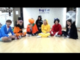 [RUS SUB] [NAVER STAR CAST] Halloween party with BTS