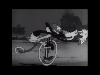 Флип и полицейский на велосипеде