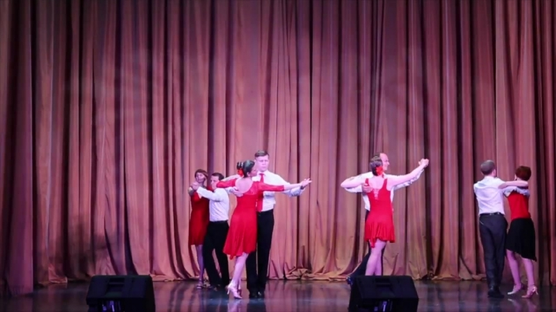 Бальные танцы, пр. Михантьева Дарья