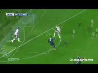 Валенсия 0-1 Реал Мадрид. Гол Бензема и передача Роналду