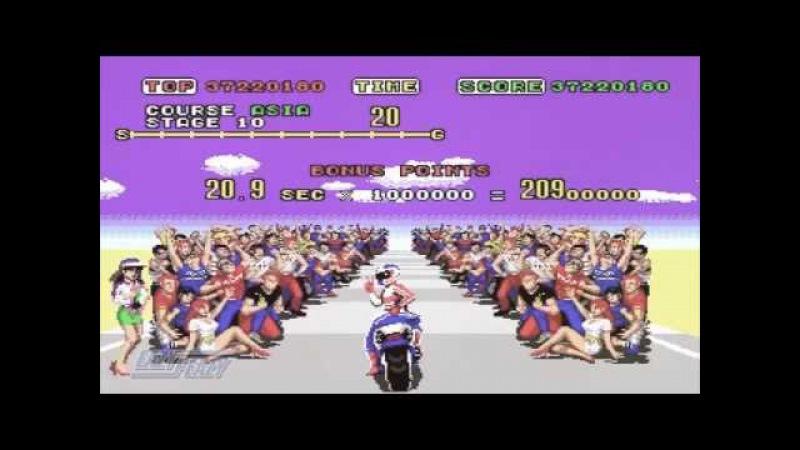 Super hang on 『スーパーハングオン』 outride a crisis 『MV』 BGM SEGA メガドライブ 1989 ~ sixto sounds OCremix