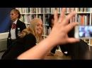 Alexandra Grant and Keanu Reeves at Art Catalogues