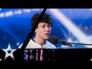 Pianist and singer Isaac melts the Judges' hearts Britain's Got Talent 2015