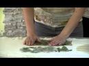 ✿Контактное крашение тканей из шелка шерсти и хлопка✿