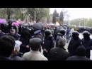 Запорожье наказали сепаратистов. 300 ватрушек и тимченко 13.04.2014