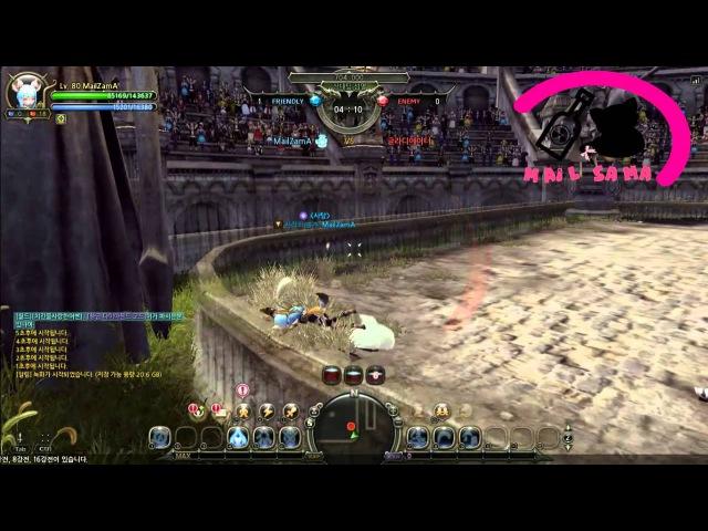 Dragon Nest KR Machina Defensio Test PvP