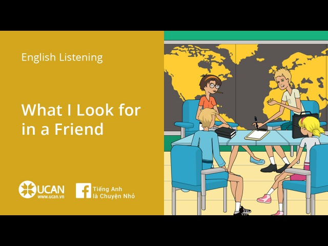 Learn English Listening | Elementary - Lesson 6. What I Look for in a Friend