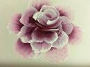 Рисуем одним мазком Бутон и роза Акриловые краски